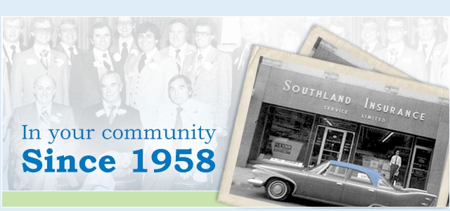 In your community since 1958.